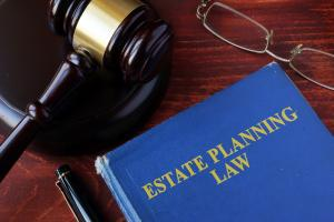 Estate planning law book